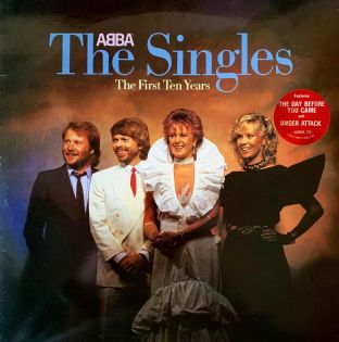 Abba - The Singles: The First Ten Years (LP) (G+/VG-)